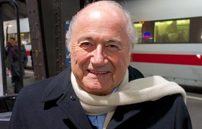 Президент ФИФА Йозеф Блаттер.