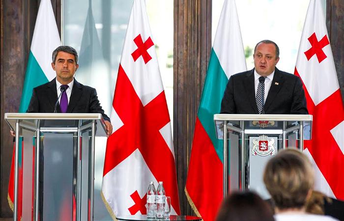 Росен Плевнелиев и Георгий Маргвелашвили.