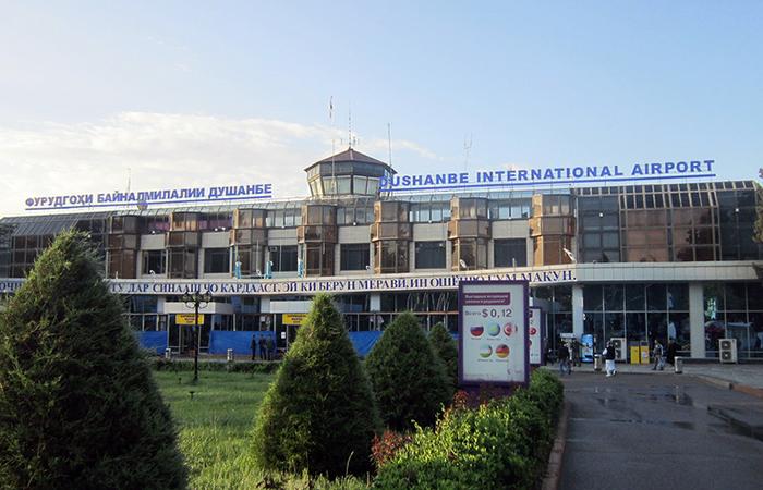 Аэропорт Душанбе.