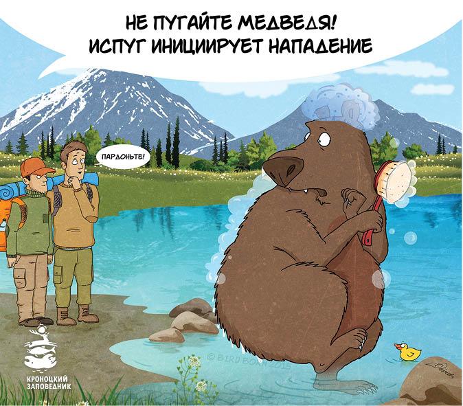 Иллюстрации предоставлены администрацией Кроноцкого заповедника