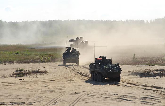 Литва юридически открывает свою территорию для армии США