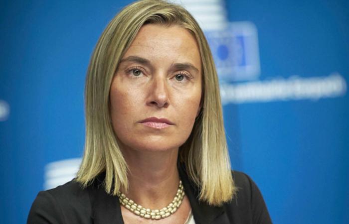 Представитель ЕС по иностранным делам и политике безопасности Федерика Могерини.