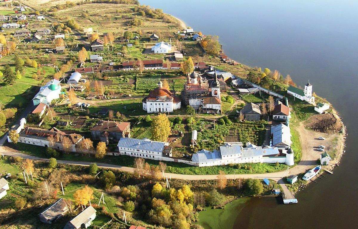 Горицкий монастырь в Вологодской области разваливается на глазах