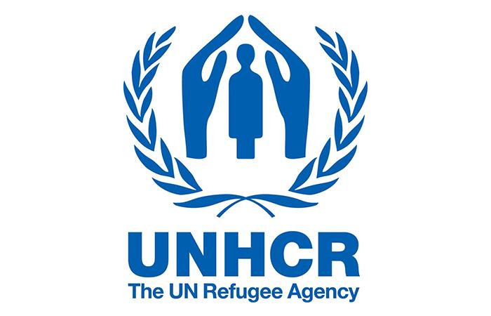 Эмблема Агентства ООН по вопросам беженцев.