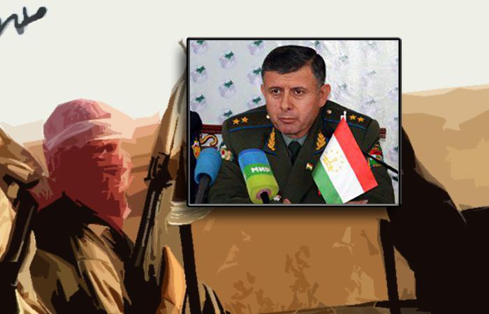 Глава Пограничной службы Таджикистана Раджабали Рахмонали.