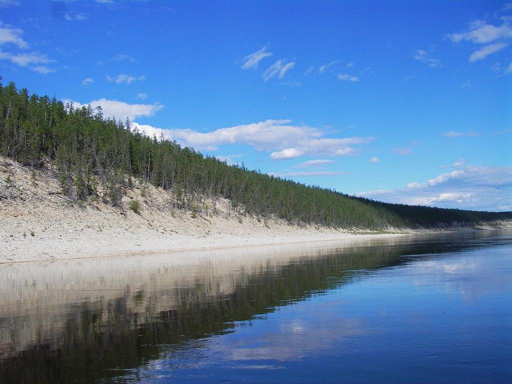 Река Малая Куонапка.