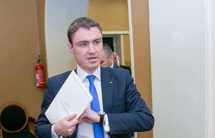 Премьер-министр Эстонии Таави Рыйвас.