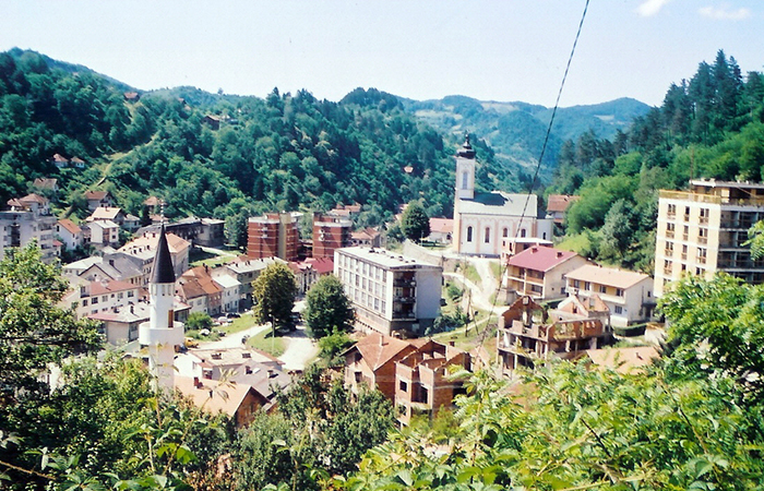 Панорама Сребреницы.