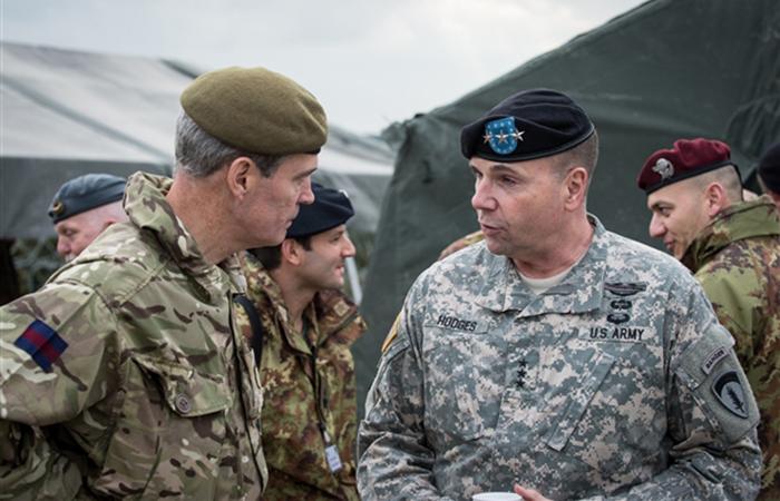 Командующий сухопутными войсками США в Европе генерал-лейтенант Бен Ходжес.
