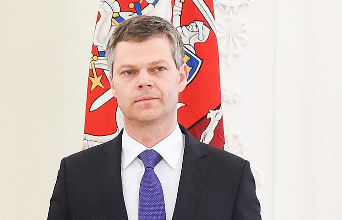 Директор Департамента государственной безопасности Литвы Дарюс Яунишкис.