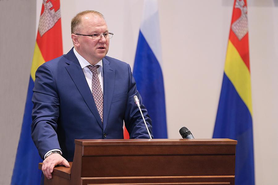 Губернатор Калининградской области Николай Цуканов. Фото: gov39.ru