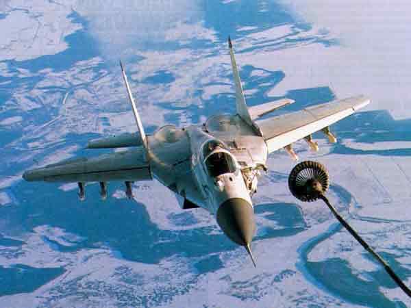 МиГ-31 Истребитель-перехватчик.