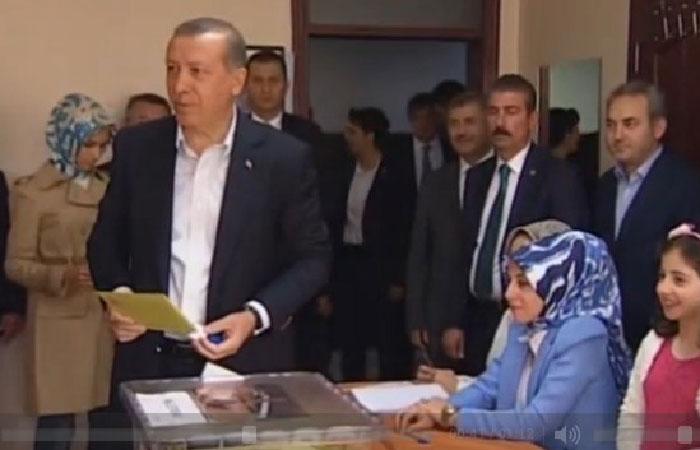 Предварительные итоги выборов: партия Эрдогана набирает 43,6%