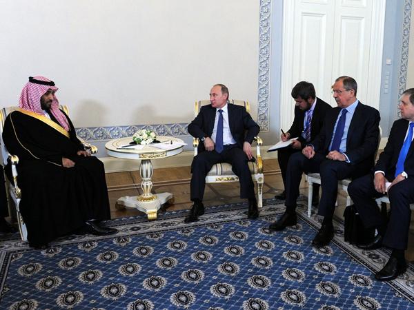 Путин принял приглашение короля Саудовской Аравии посетить его страну