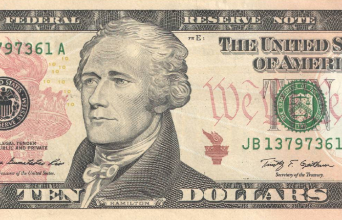 В США на купюре номиналом $10 впервые появится изображение женщины