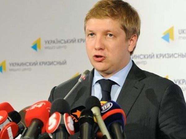 """Председатель правления """"Нафтогаза"""" Андрей Коболев."""