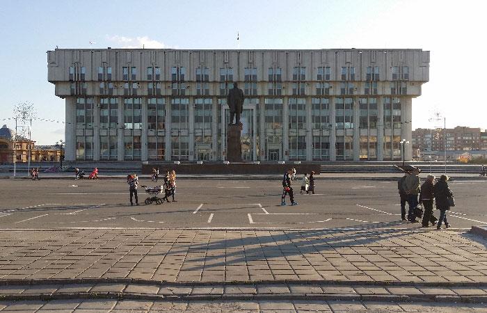 Здание правительства Тульской области.