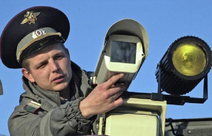 Установка камеры видео фиксации.