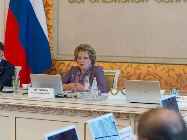 Проект закона о ГЧП задержался в Госдуме— Матвиенко