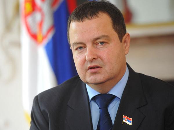 Глава МИД Сербии Ивица Дачич.