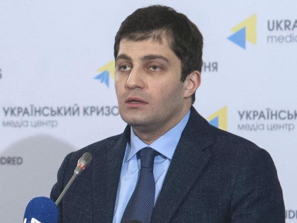 Заместитель генерального прокурора Украины Давид Сакварелидзе.