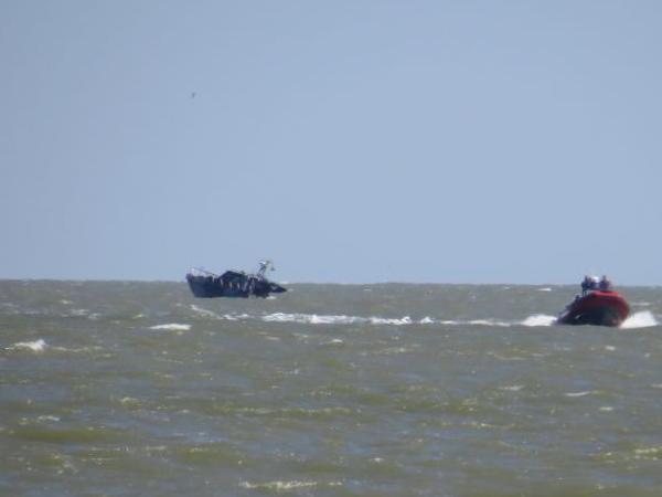 Киев обвинил ополченцев в подрыве катера в Азовском море