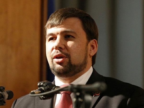 Полпред Донецкой народной республики в контактной группе на переговорах в Минске Денис Пушилин.