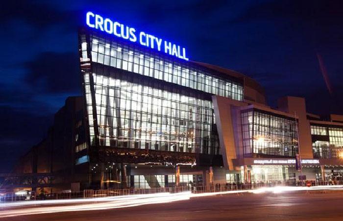 Московский концертный зал «Крокус Сити Холл».
