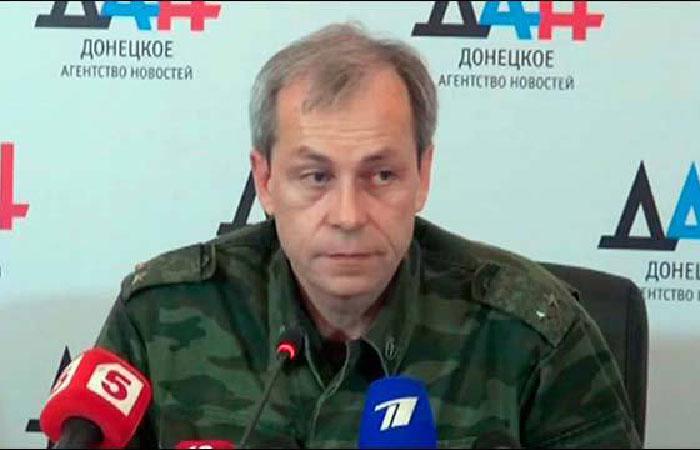 Эдуард Басурин - заместитель командующего корпусом Минобороны ДНР.