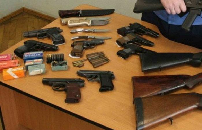 С начала года жители Подмосковья сдали более 3 тыс. единиц оружия