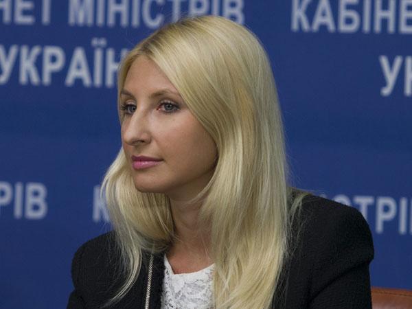 Заместитель министра юстиции Украины Наталья Севастьянова.