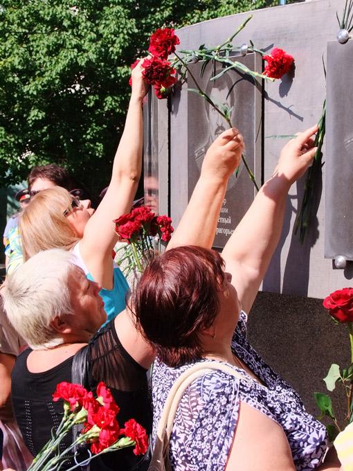 В Будённовске сегодня вспоминают жертв террористического акта.
