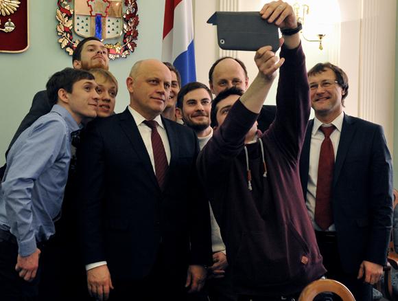 Врио губернатора Омской области Виктор Назаров. Фото: gubernator.omskportal.ru