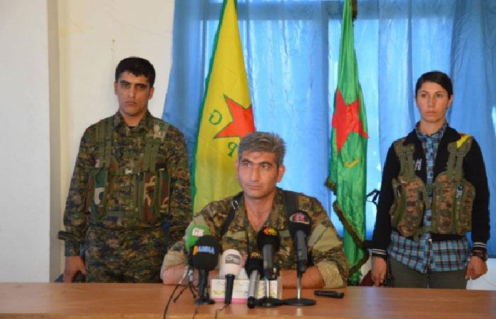Редур Халиль - представитель курдских Отрядов народной самообороны.