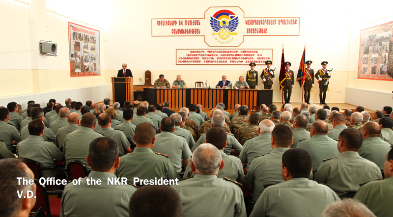 Левон Мнацаканян назначен министром обороны Нагорного Карабаха
