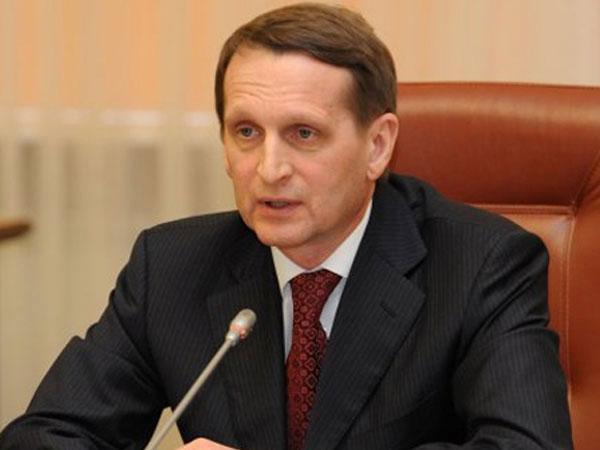 Спикер Госдумы призвал противодействовать международным бюрократам
