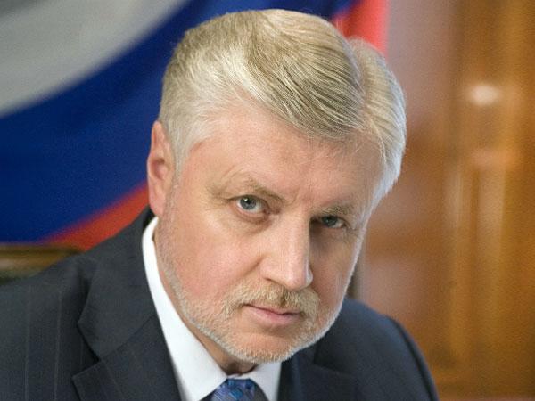 """Лидер """"Справедливой России"""" Сергей Миронов."""