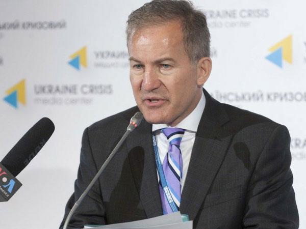 Спикер специальной мониторинговой миссии ОБСЕ на Украине Майкл Боцюркив.