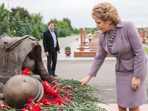 Валентина Матвиенко: «Никто в России не забыл бесланскую трагедию»