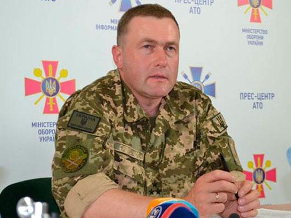 Заместитель руководителя штаба АТО полковник Сергей Галушко.