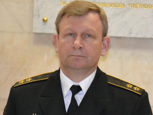 Главнокомандующий ВМФ России адмирал Виктор Чирков.