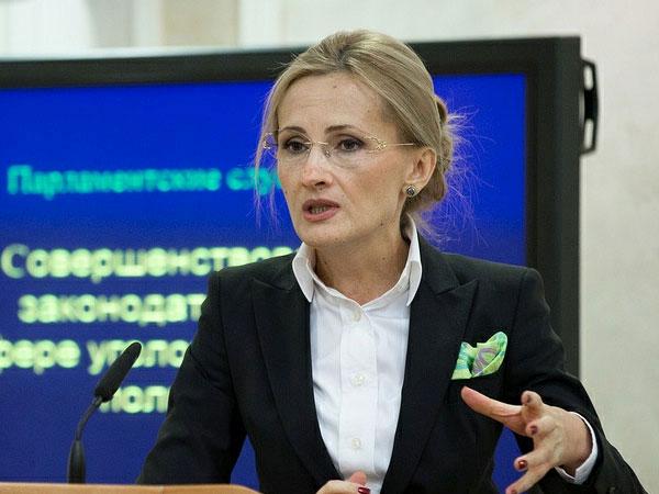 Глава комитета Государственной думы РФ по безопасности Ирина Яровая