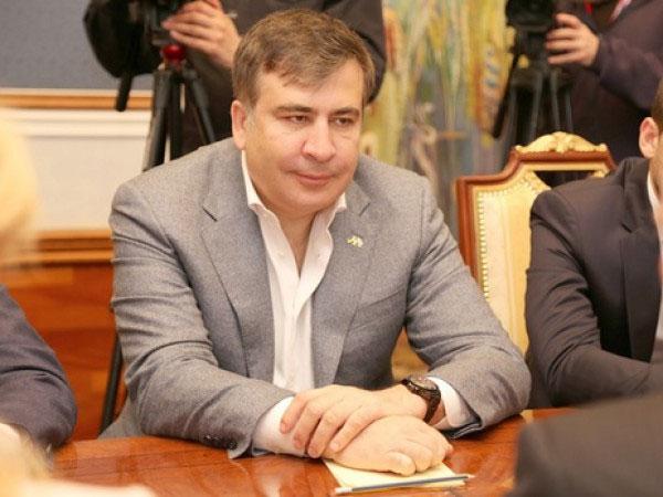 Губернатор Одесской области Михаил Саакашвили.