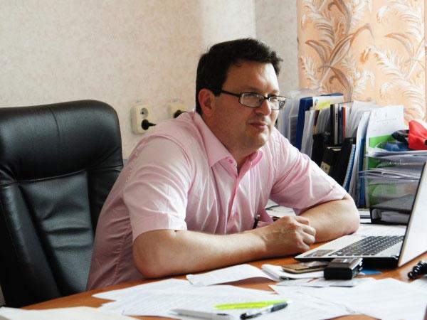 Проректор по инновационной работе и научной деятельности СевГУ Андрей Фалалеев.