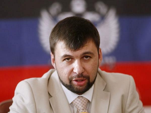 Представитель ДНР на Минских переговорах Денис Пушилин.