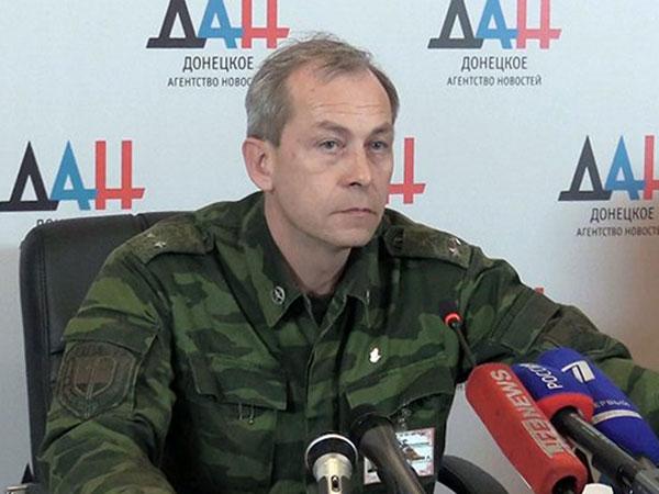 Заместитель командующего корпусом Минобороны ДНР Эдуард Басурин.