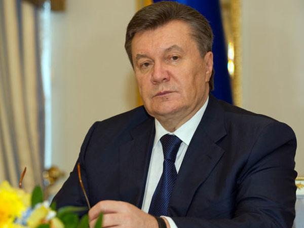 Экс-президент Украины Виктор Янукович.
