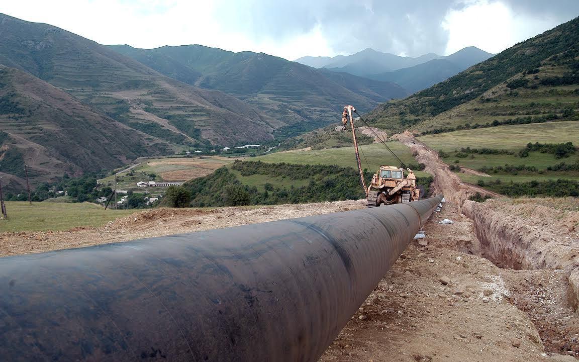 Строительство газопровода Иран-Армения. © Photolure