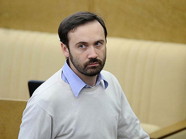 «СР» внесла в Госдуму изменения, позволяющие лишить мандата Пономарева