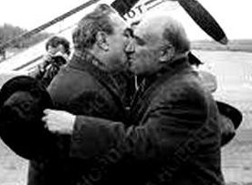Леонид Брежнев и Тодор Живков